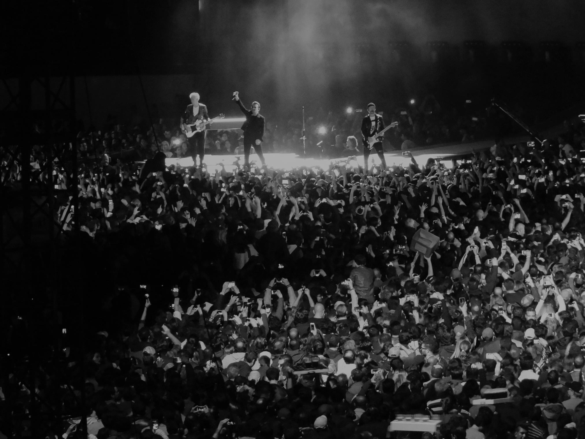 Concierto de U2 CDMX