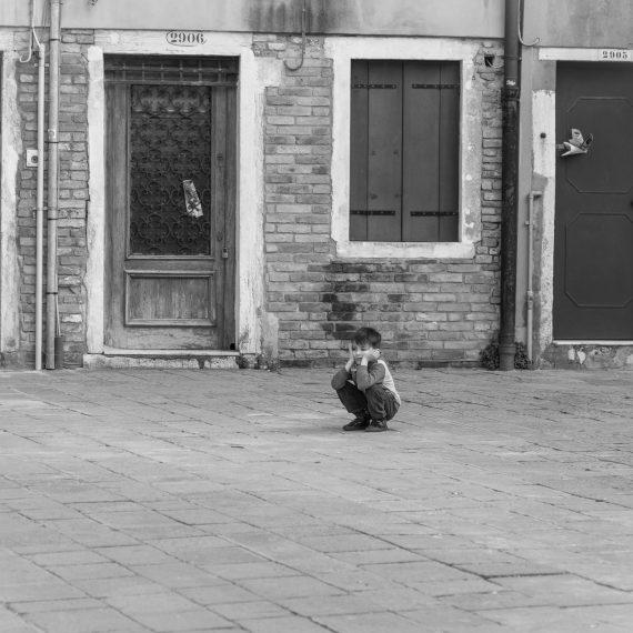 Tarde en el Gueto, Venecia