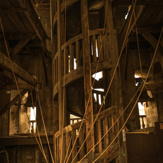 Escaleras de Madera, Campanario Catedral Metropilitana CDMX
