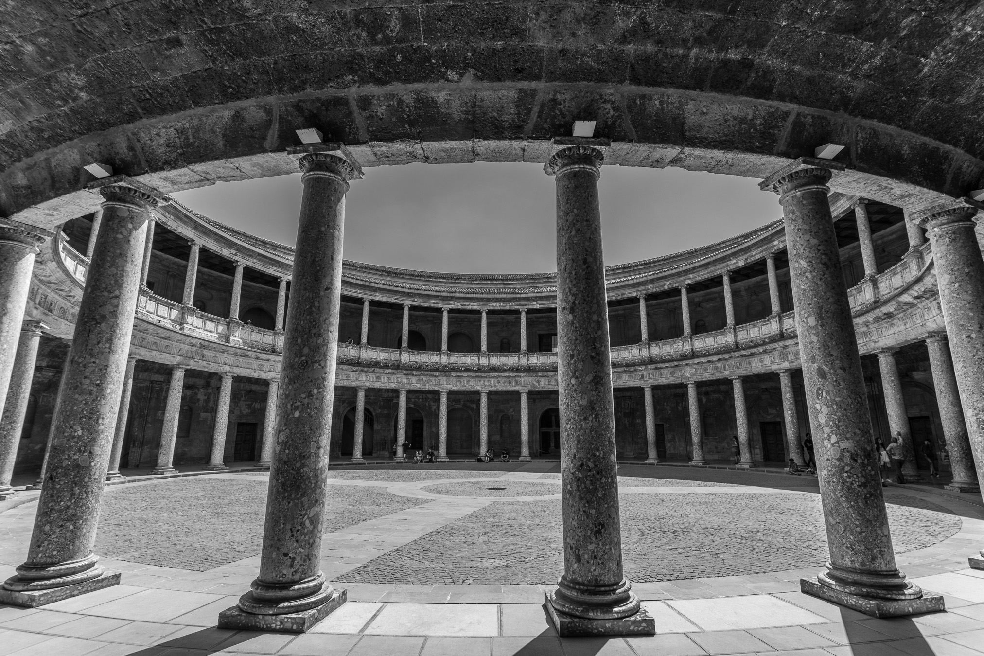 Palacio Real Carlos V, La Alhambra