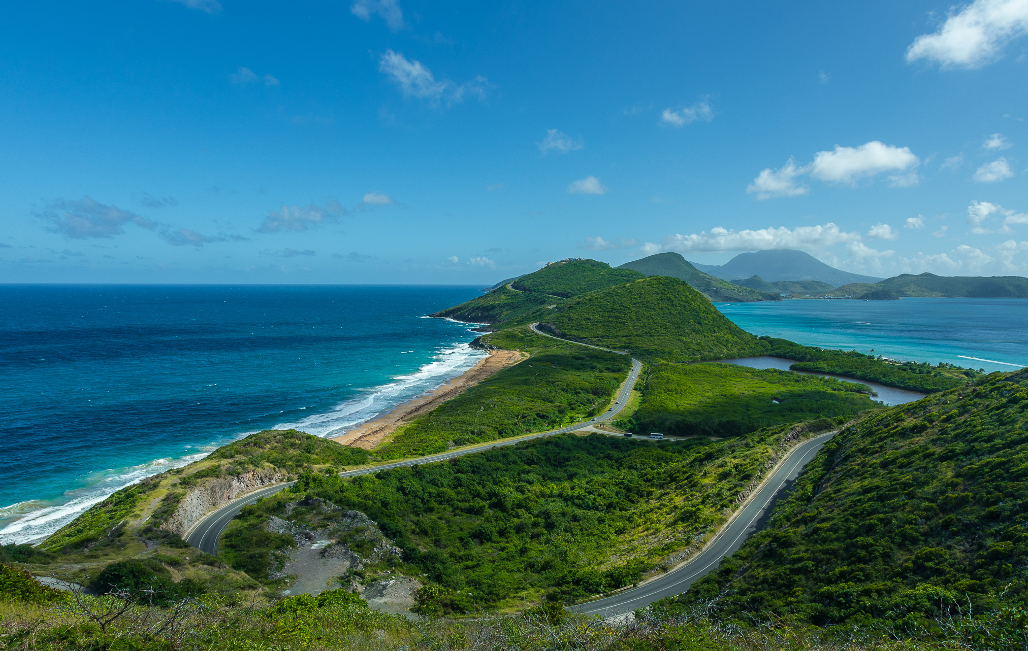Saint Kitts _ Nevis, Mar Caribe