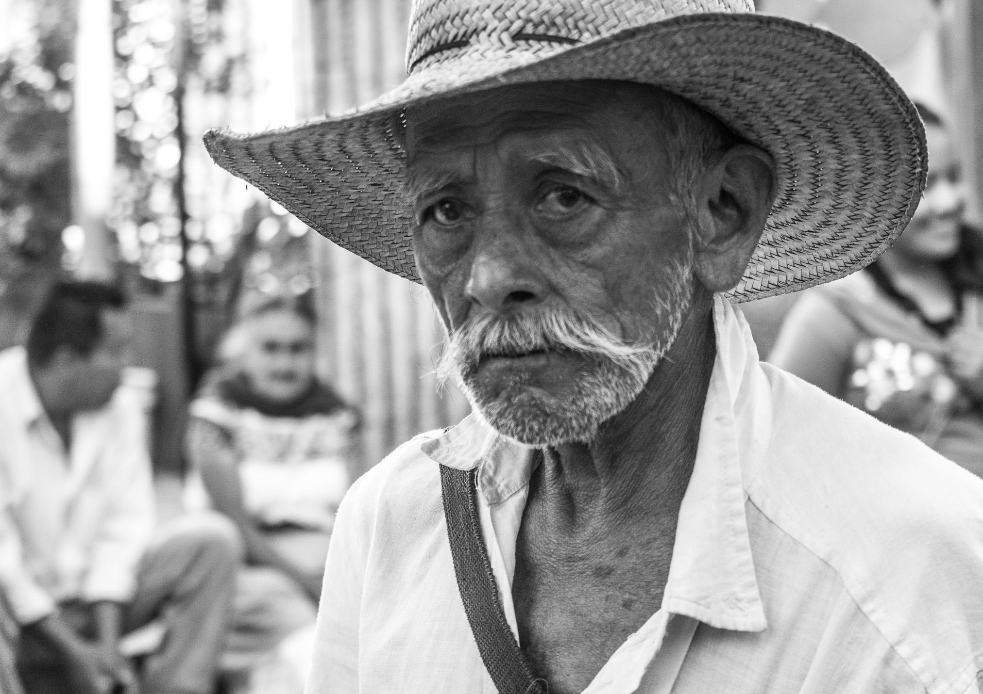 Anciano de Cuetzalan, Puebla