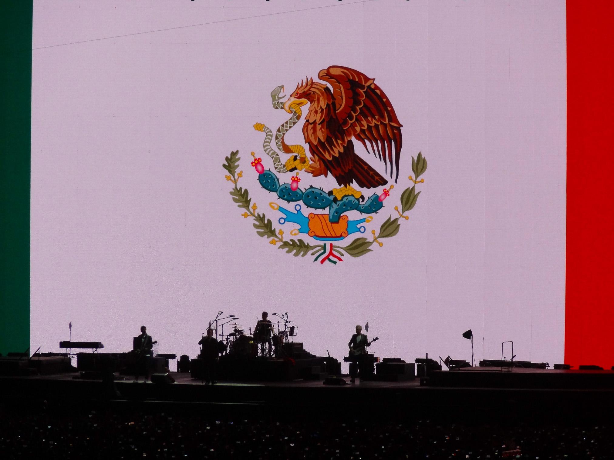 Concierto de U2 CDMS 3